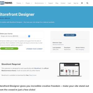 WooThemes – Storefront: Designer
