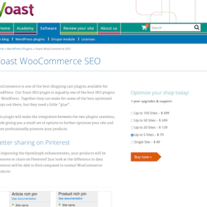 Yoast: WooCommerce SEO Premium Plugin