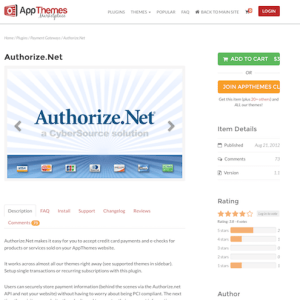 AppThemes: Authorize Net