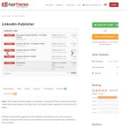AppThemes: LinkedIn Publisher