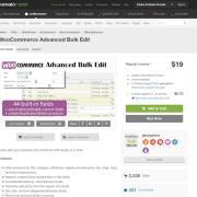 Codecanyon: WooCommerce Advanced Bulk Edit