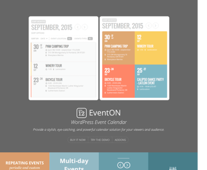 EventON WordPress Event Calendar