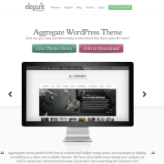 Elegant Themes: Aggregate WordPress Theme