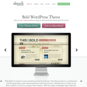Elegant Themes: Bold WordPress Theme