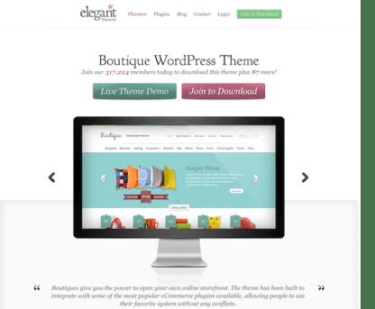 Elegant Themes: Boutique WooCommerce Theme