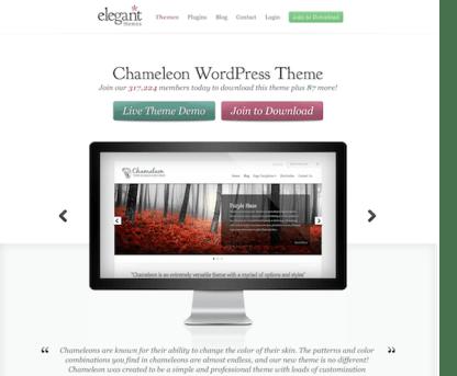 Elegant Themes: Chameleon WordPress Theme