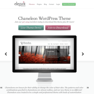 Elegant Themes: Chameleon WordPress Theme