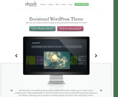 Elegant Themes: Envisioned WordPress Theme