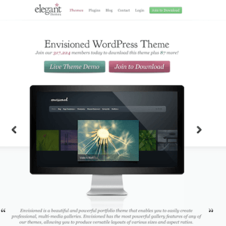 Elegant Themes: Envisioned WordPress Theme