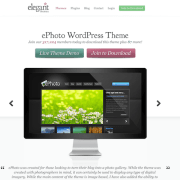 Elegant Themes: ePhoto WordPress Theme