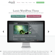 Elegant Themes: Lumin WordPress Theme