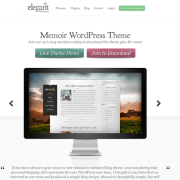 Elegant Themes: Memoir WordPress Theme