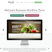 Elegant Themes: MyCuisine WordPress Theme