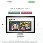 Elegant Themes: Nexus WordPress Theme
