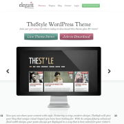Elegant Themes: The Style WordPress Theme