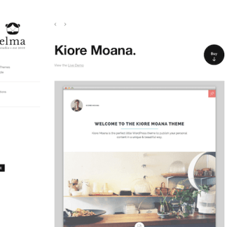 Elmastudio: Kioremoana WordPress Theme