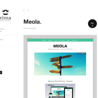 Elmastudio: Meola WordPress Theme