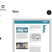 Elmastudio: Nori WordPress Theme