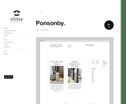 Elmastudio: Ponsonby WordPress Theme