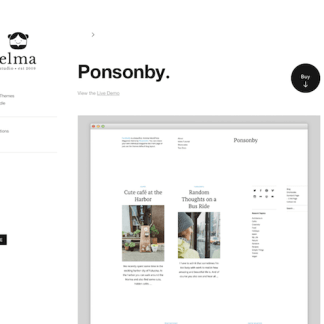 Elmastudio: Ponsonby WordPress Theme