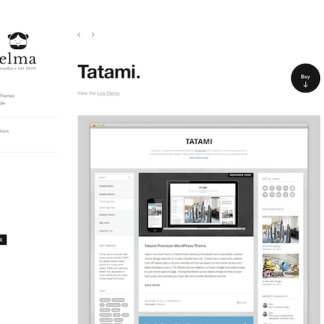 Elmastudio: Tatami WordPress Theme