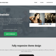 Graph Paper Press: Sidewinder WordPress Theme