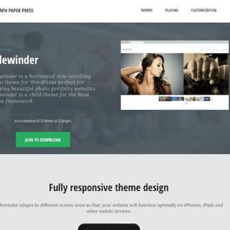 Graph Paper Press: Sidewinder WordPress Theme