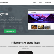 Graph Paper Press: StoryTeller WordPress Theme
