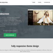 Graph Paper Press: Widescreen WordPress Theme