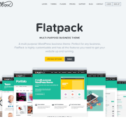 OboxThemes: Flatpack WordPress Theme