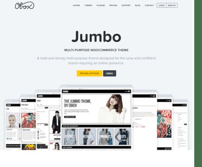 OboxThemes: Jumbo WordPress Theme