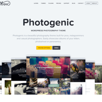 OboxThemes: Photogenic WordPress Theme