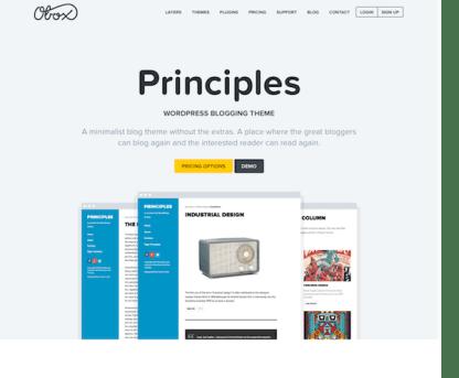 OboxThemes: Principles WordPress Theme