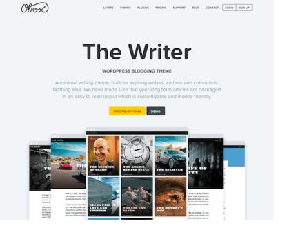OboxThemes: The Writer WordPress Theme