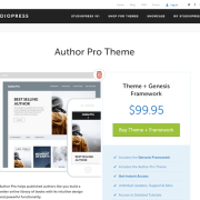 StudioPress: Author Pro Theme