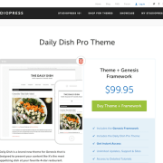 StudioPress: Daily Dish Pro Theme