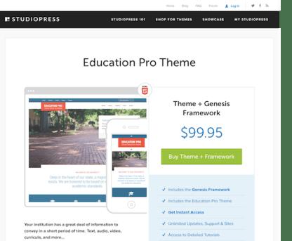 StudioPress: Education Pro Theme