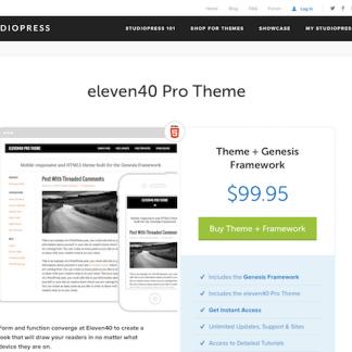 StudioPress: eleven40 Pro Theme