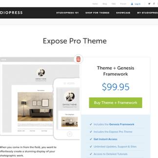 StudioPress: Expose Pro Theme