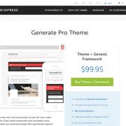 StudioPress: Generate Pro Theme