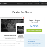 StudioPress: Parallax Pro Theme