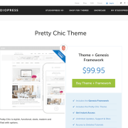 StudioPress: Pretty Chic Theme