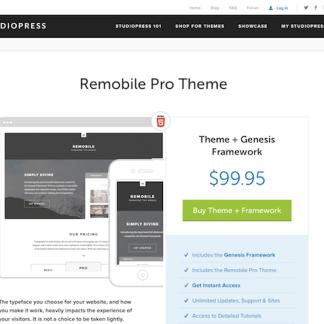 StudioPress: Remobile Pro Theme