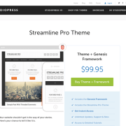 StudioPress: Streamline Pro Theme