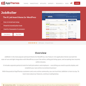 AppThemes: JobRoller WordPress Theme