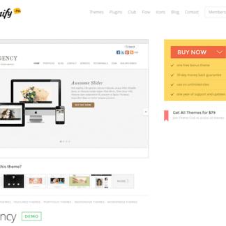 Themify: Agency WordPress Theme