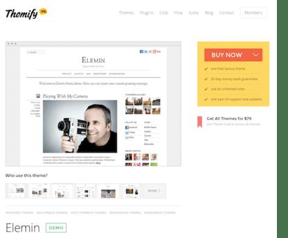 Themify: Elemin WordPress Theme