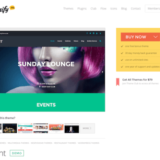 Themify: Event WordPress Theme