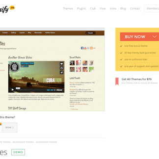 Themify: Notes WordPress Theme