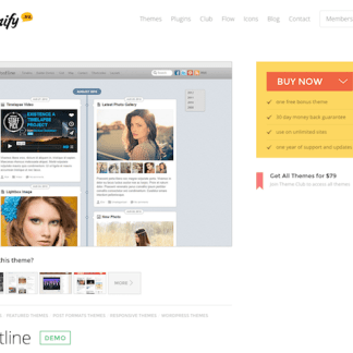 Themify: Postline WordPress Theme